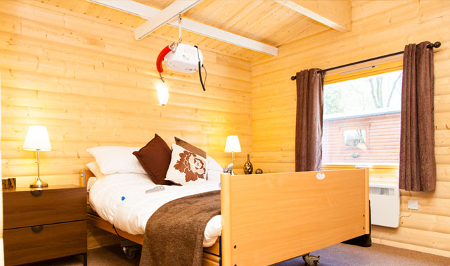 Master Bedroom with Hoist